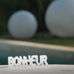 Le bonheur est dans la piscine